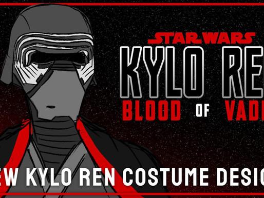 FIRST LOOK: Kylo Ren's New Costume in Kylo Ren: Blood of vader