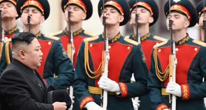 Kim Jong-un chega à Rússia para participar de encontro com Putin
