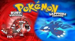 Pokémon Ruby/Sapphire (GBA)