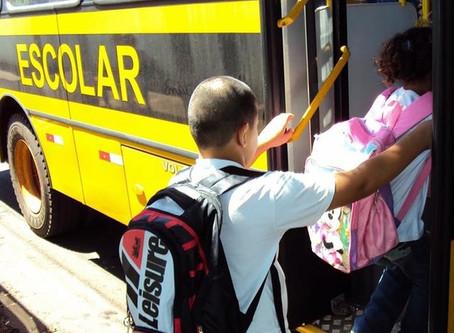 Contrato para transporte de estudantes é alvo de fiscalização