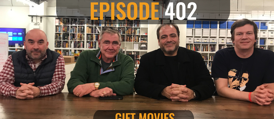 Unwrap yourself a fresh episode of CinemaJaw with guests Jerry Vasilatos and Paul Ciolino!