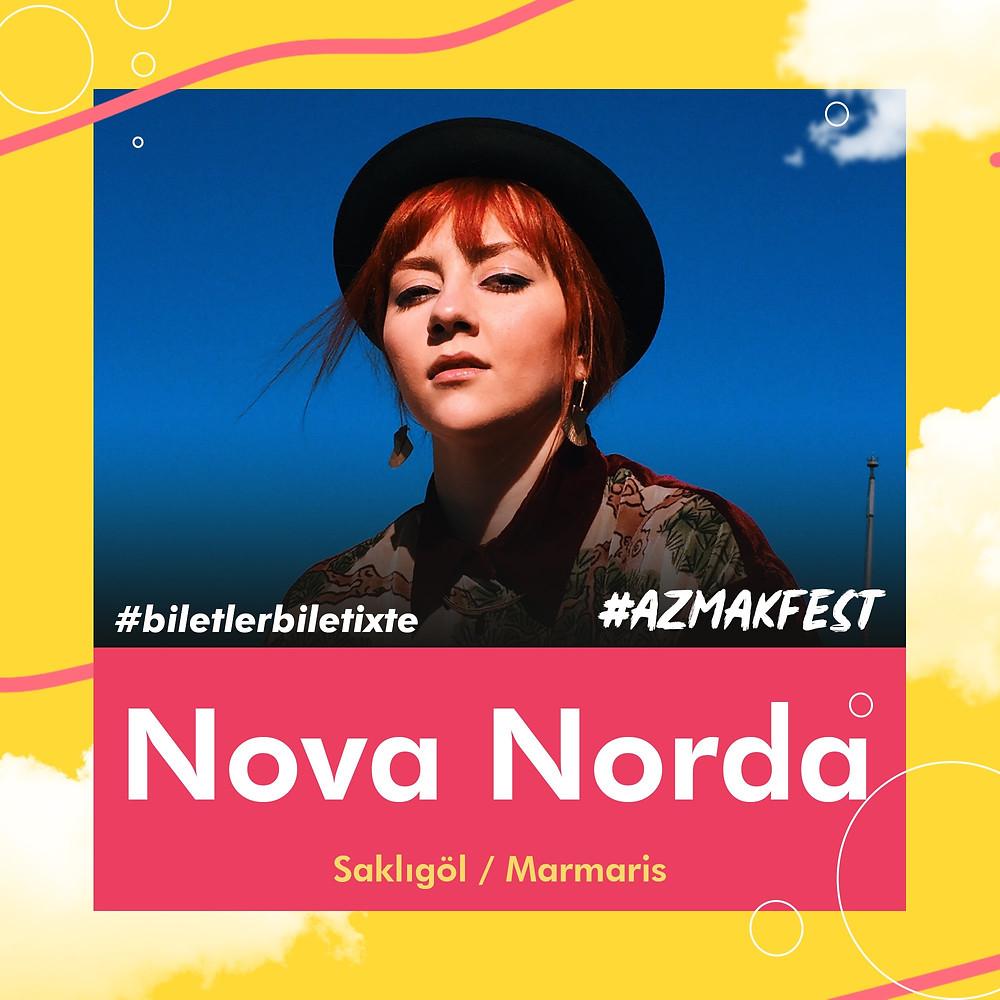 Nova Norda ile 1 Eylül'de #AzmakFest'te buluşuyoruz.
