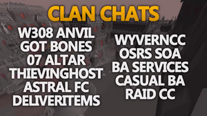 Most Useful Clan Chats in OSRS