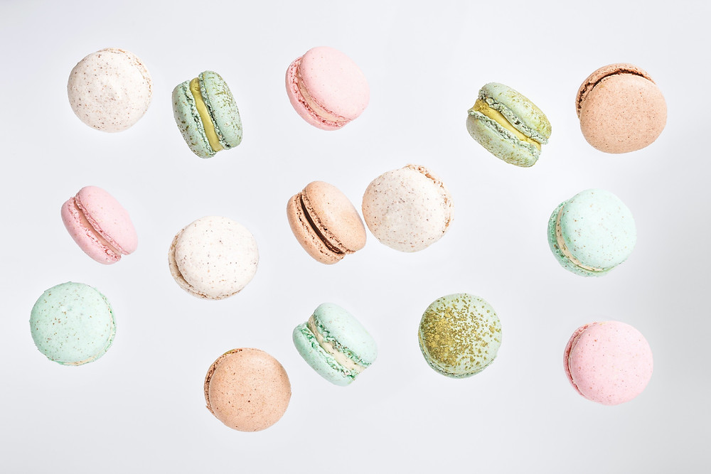 sweets macaroons pastel added sugar