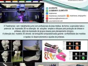 Médicos usam a impressão 3D para planejar cirurgias em hospital no Rio