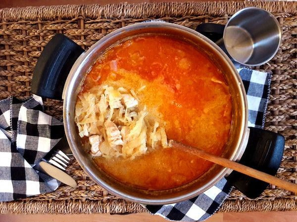 Recept na zdravý segedínský guláš