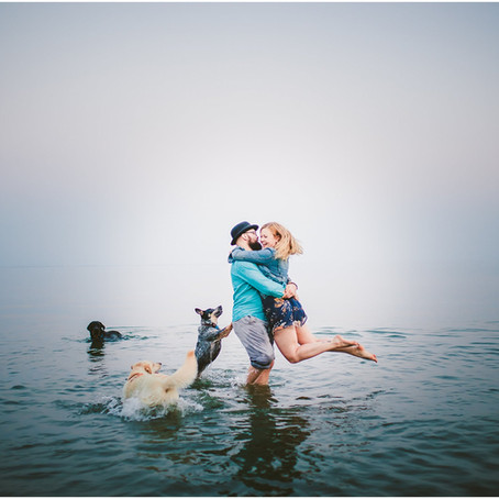 Chelsey & Jon || Beverly Triton Beach Park Engagement