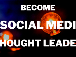 Become a Social Media Thought Leader