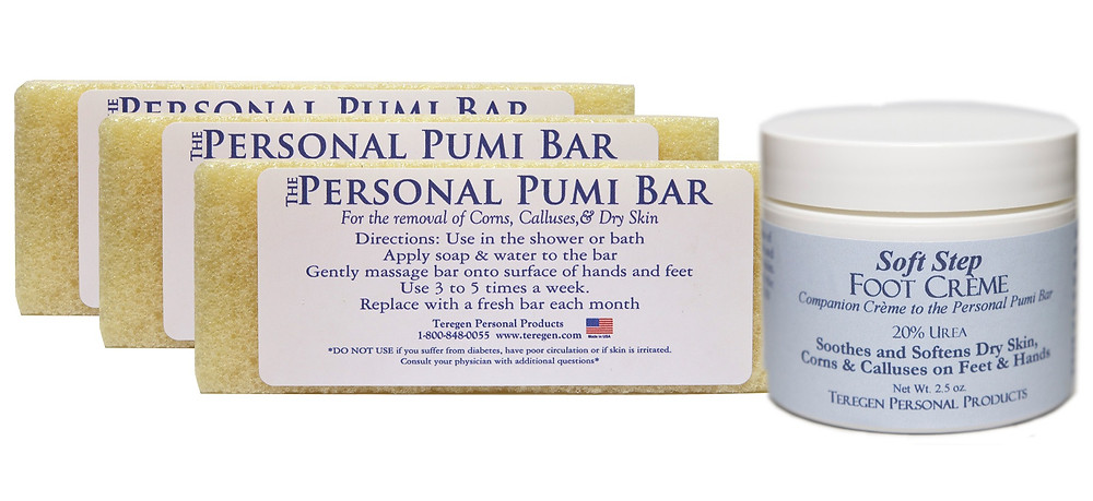 Personal Pumi Bars and Soft Step Foot Creme
