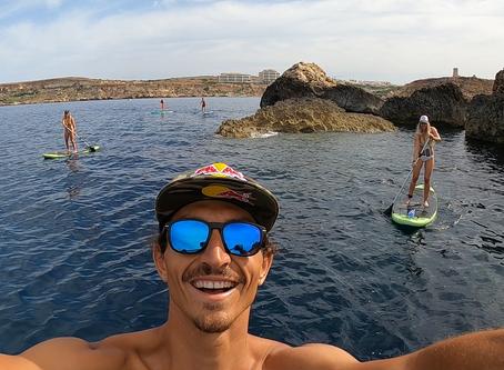 SUp a malta , stand up paddle tour malta