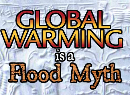 Global Warming is a Flood Myth
