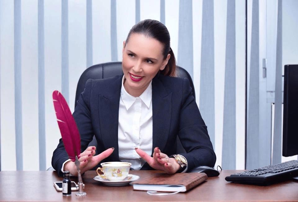 """Маја Ристова, адвокат во Адвокатска канцеларија """"РИСТОВА"""" и Претседател на Асоцијација на Менаџери на Македонија"""