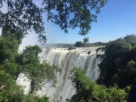 Exploring Victoria Falls
