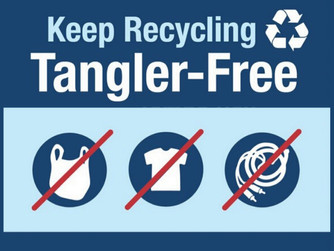 No Stringy Things-'Tanglers' in Your Recycling Bin