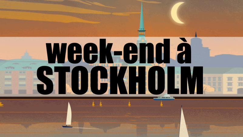 3 jours stockholm blog
