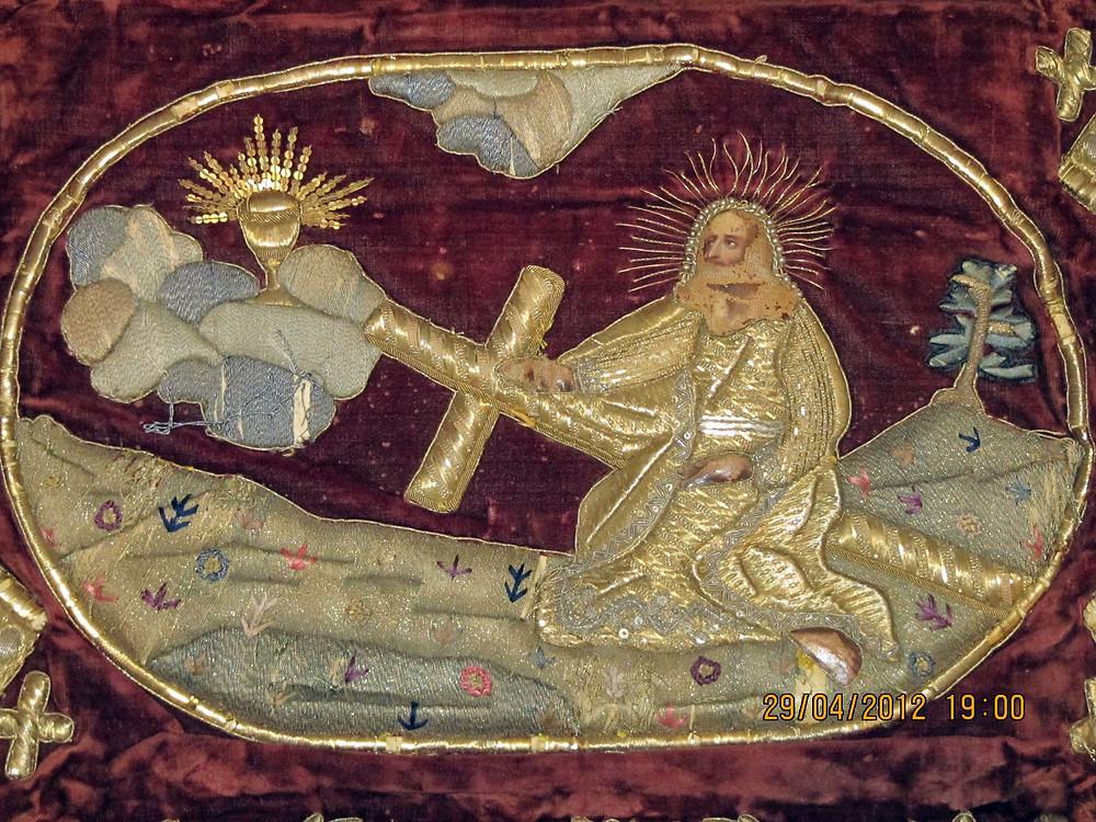 Церковная швейная мастерская Евфимия вытое облачение для схимника на заказ.