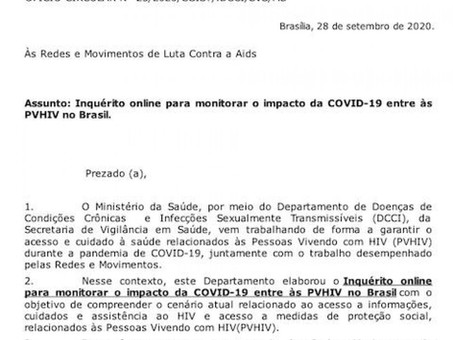 DCCI faz levantamento do impacto da COVID-19 sobre as PVHA