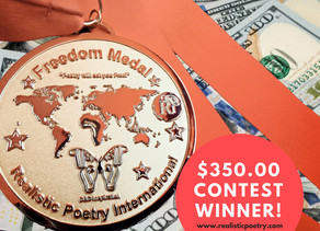 Exclusive interview with $350.00 Nature Poetry Contest winner, Ken Allan Dronsfield!!!