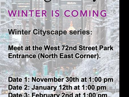 Winter Cityscape Series