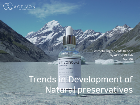 Cosmetic Ingredients Report By ACTIVON Lab Vol. 06