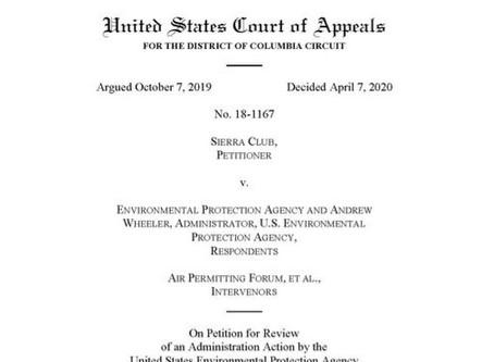 DC Circuit upholds SILs guidance    April 8, 2020 | Eric L. Hiser