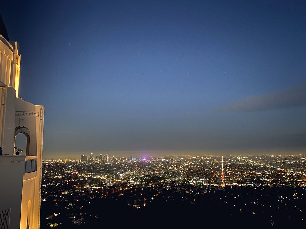 Panoramic view of Los Angeles