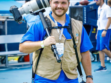 Casey Gower Joins Speedway Soccer As Official Photographer