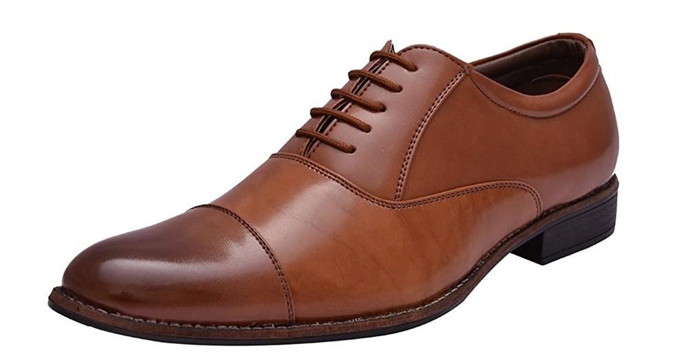 Brown  oxford shoe