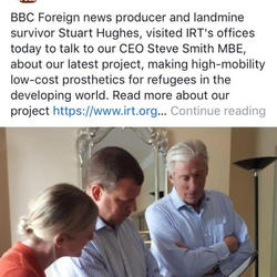 Prothetics for the developing world - a visit by the BBC