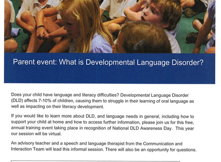 Does Your Child Have Language and Literacy Difficulties?