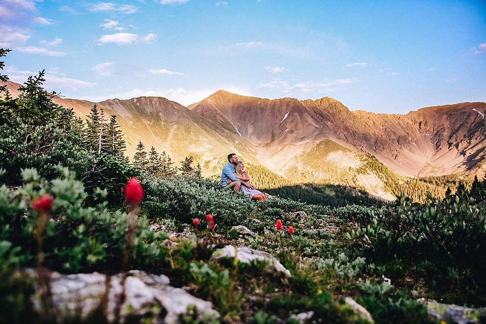 Loveland Pass Wedding Photograher