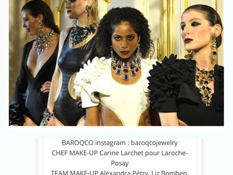 Proud of being an official member of the Team Makeup for Baroqcojewelry!