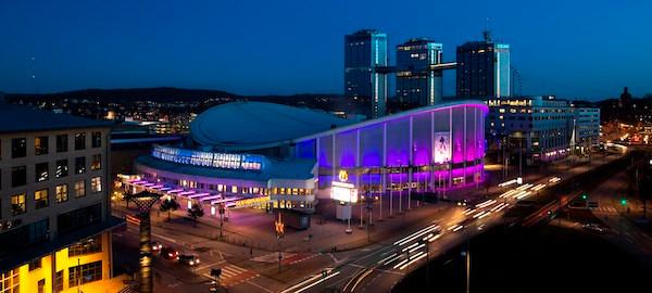 """Το """"Scadinavium Arena"""" (Γκέτεμποργκ) αναμένεται να φιλοξενήσει το Ευρωπαϊκό πρωτάθλημα καράτε του 2021"""