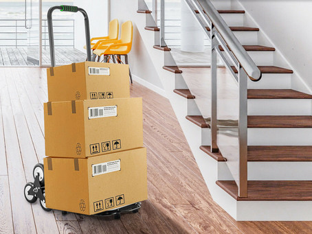 Stair Climbing Dolly - Heavy Duty Hand Truck for less than $60!