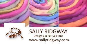 Hand dyed Tasmanian (Australian) Merino Wool Top/Roving by Sally Ridgway buy wool online