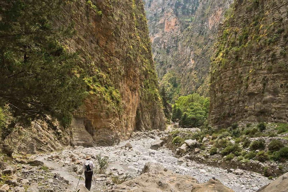 Samaria Gorge on Crete