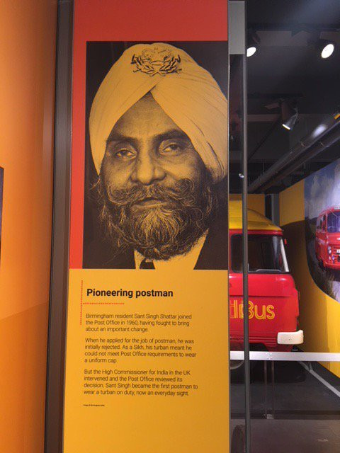 Source: The Postal Museum/ The Turban Story