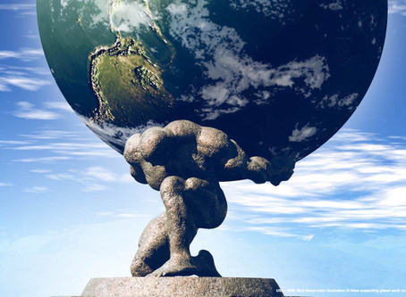 The weight of the world is on the wrong shoulders