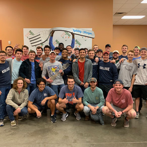 Kappa Sigma Shows Out at TU Day of Service