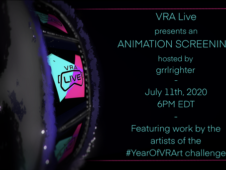 VRALive Animation Screening!