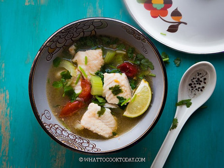 What To Cook Today's easy Asian fish soup