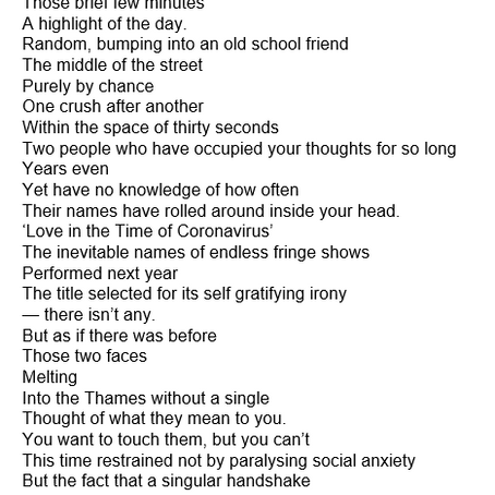 James Newbery 2.6 Challenge: Writing a 26 line poem!