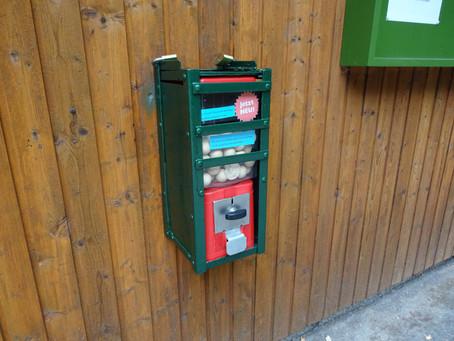 Die Kugelbahn bekommt einen Automaten