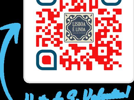 Encaminhe o nosso convite para a noite de S. Valentin