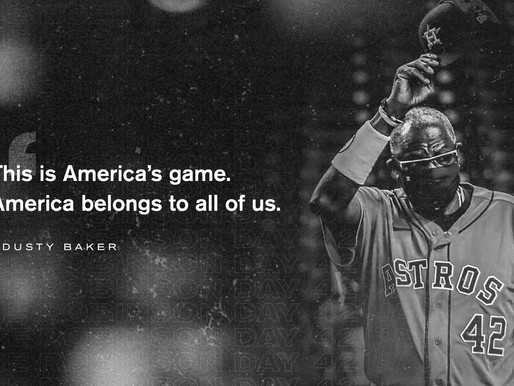 Astros and A's postpone game on Jackie Robinson Day to protest social injustice