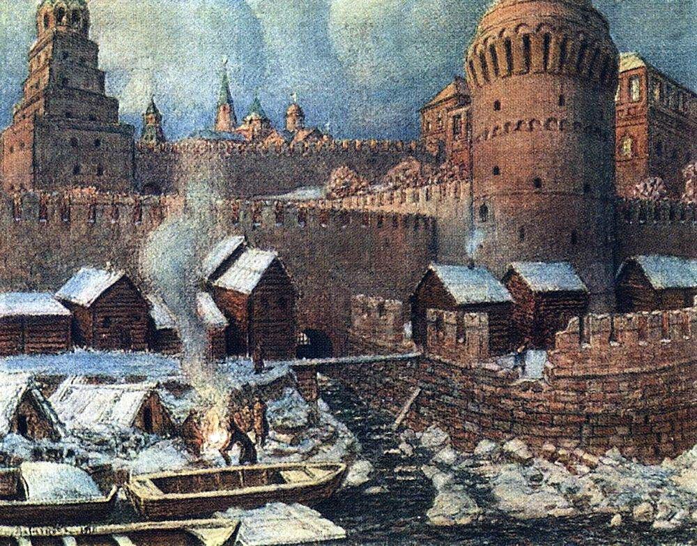 Старое устье реки Неглинной (1924 год)