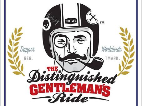 "Distinguished Gentleman's Ride, ""mototerapia"" e setembro amarelo…"