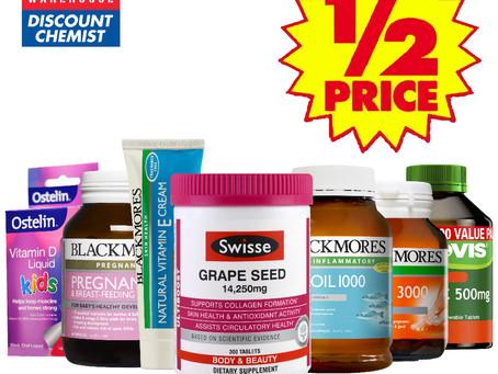 ❤守護母親的健康❤-Chemist Warehouse 維他命專區現正最低比半價還便宜✨✨