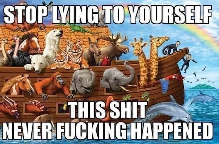 Funny Noah's Ark Meme