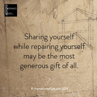 Giving of Yourself When You Are Broken